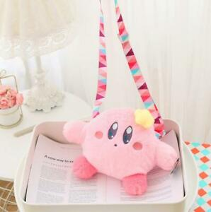 Star Kirby Plush Bag Shoulder Bag Satchel Handbag Doll Toy Women's Bags