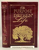 Easton Press THE PURPOSE DRIVEN LIFE Collector's LIMITED Edition LEATHER BOUND