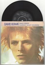 "David Bowie ""Space Oddity/Changes"" 7"" OOP Brian Eno Ziggy Stardust Roxy Music"