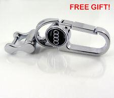 Audi Car Logo Emblem Keychain Keyring Fob Zinc Alloy Metal Best Quality #1208