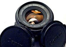 Canon FD 50mm f/1.8 Prime Camera Lens Fits Canon FD Mount