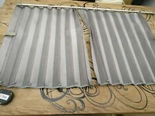 Toyota Emina Estima genuine factory Curtains Grey for Behind front seats.