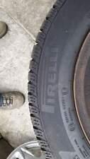 4 Pirelli winterbanden met zwart geverfde velgen, steekmaat (PCD) 4x108mm