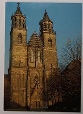 Schöne alte Ansichtskarte AK - Dom zu Magdeburg Westfassade von Arendt
