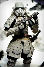 Star Wars Ashigaru Samurai Stormtrooper Movie Realization Figure by Bandai Japan