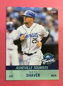 2021 Choice, Asheville Tourists. Manager - NATE SHAVER