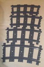 LEGO TRAIN RC CURVED TRACK  53400 X 4