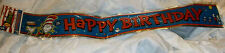 NEW Rare Dr Seuss  Cat In Hat 12FT Happy Birthday Party Banner party supplies