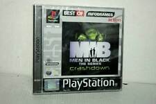 MEN IN BLACK THE SERIES CRASHDOWN NUOVO SONY PSONE VERSIONE ITALIANA GS1 34704
