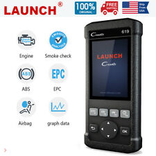 Launch OBDII Scanner CR619 Engine ABS SRS Airbag Tool ODB2 Car Diangostic Tools