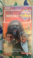 More details for dr doctor who pal vhs inferno signed cover pertwee courtney john autograph 1994