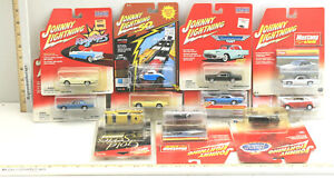 11 Johnny Lightning Muscle Cars Mustang & Ford Ragtops Retro Roads 2002 -18 NOC