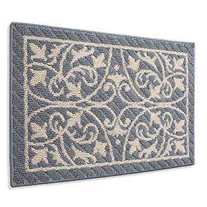 """Door Mat Entry Indoor Floor Mats Inside Doormat Front 19.5""""x31.5"""" 02-grey"""