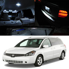 For 04-09 Nissan Quest V6 Family Van WHITE Xenon Interior Light LED Bulb Kit