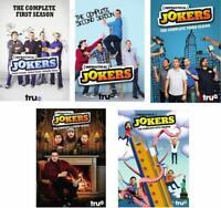 Impractical Jokers: Complete Series Seasons 1-5 (DVD, 2017) 1 2 3 4 5 Four Five