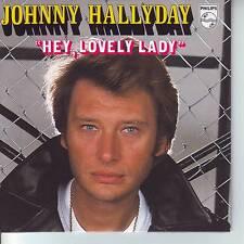 CD 2 titres JOHNNY HALLYDAY ** HEY LOVELY LADY * LA FILLE...   n°149