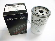 Genuine OE MG ROVER 75 2.0 , 2.5 , V6 PETROL MG ZT OIL FILTER LPW100161