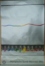 Olimpiadi 1972, Olympia manifesti, MANIFESTO OLIMPIADI MONACO, Shusaku Arakawa
