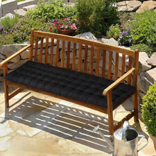 More details for 2/3 seater garden pation swing bench cushion patio outdoor furniture seat pad uk