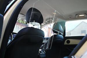 Spuckschutz / Virenschutz für Taxi Mercedes E-Klasse E 200, W213 / B Klasse