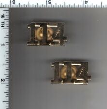 114th Precinct Police Collar Brass Set - from the New York City/New Jersey Area