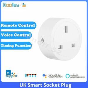 Smart Wifi ZigBee Plug Socket UK Outlet Timer Light Switch Work w/Alexa Google