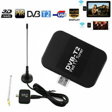 DVB-T2 Micro USB TV Tuner Mobile HD TV Receiver Stick for Phone Tablet Android M