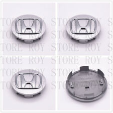 "NEW set 4 wheel rim center cap logo 2.75"" 69mm Civic Accord CRV SILVER for Honda"