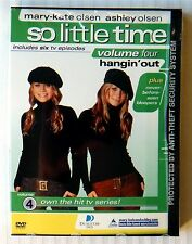 Mary-Kate & Ashley Olsen - So Little Time Vol. 4: Hangin' Out ~ New DVD Show