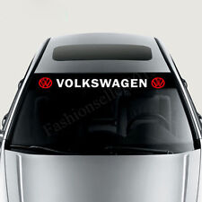 Front Windshield Decal Vinyl Car Stickers for VOLKSWAGEN  Auto Window Exterior