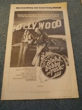 ALOHA BOBBY AND ROSE(1975)PAUL LEMAT ORIGINAL PRESSBOOK