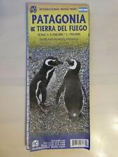 Patagonia & Tierra del Fuego Folding International Travel Map; 2018