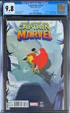 CAPTAIN MARVEL #17 CGC THOR BATTLE CAMPION VARIANT 1:20 KAMALA KHAN 2013 2nd NEW