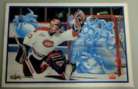 "NHL MONTREAL CANADIENS McDONALDS' PATRICK ROY FORUM GHOSTS PLACE MATT 12"" X 17"""
