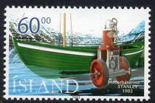 Islanda Gomma integra, non linguellato 2002 SG1013 Centenario del primo MOTOSCAFO IN ISLANDA