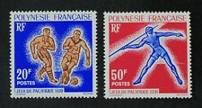 CKStamps: France Stamps Collection French Polynesia Scott#203 204 Mint H OG