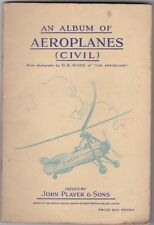 In Official Album Aircraft Collectable Cigarette Cards
