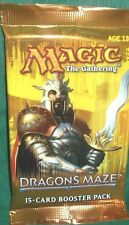 MTG DRAGON MAZE BOOSTER PACK 5 COUNT LOT FREE SHIP