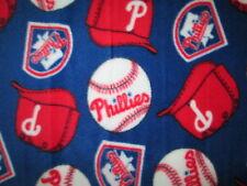 PHILLIES PHILDELPHIA LICENSED MLB BASEBALL FLEECE FABRIC