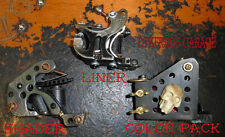 Lot 3 machine a tatouer handmade custom tattoo machine liner/shader/color packer