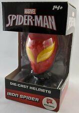 Marvel SPIDERMAN Die-Cast Iron Spider Helmet Display Walgreens Exclusive NIB