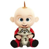 Incredibles 2 Jack Jack Attack Plush Figure Doll Ages 3+ Toy Raccoon Baby Play