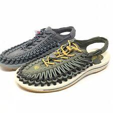 Keen Uneek Sport Hiking Trail Water Sandals Mens 9 M Green/Gray - Color Mismatch
