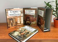 Italian furniture reference books IL MOBILE EUROPEO DAL SETTECENTO AL NOVECENTO