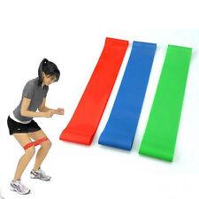 4 Resistance Tube Set Gym Fitness Exercise Workout Heavy Yoga Training Band Gift