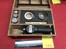 MITUTOYO DIGITAL BOREMATIC INSIDE MICROMETER 1.0 to 2.0 Inch W 2 Rings T292