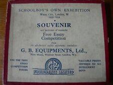 VINTAGE WOODEN JIGSAW RARE Souvenir 1933-1934 Exhibition, GBE 16mm Talkie Set