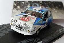 FIAT RITMO 75 ABARTH #15 MONTE CARLO RALLY 1980 BETTEGA MANNUCCI IXO ALTAYA 1/43