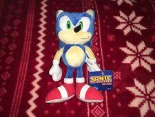 "RARE 8"" Sanei SONIC THE HEDGEHOG Plush SEGA JAPAN Joypolis Sonic Toy Doll 2007 S"