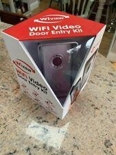 WIFI VIDEO VIEW DOOR DOORBELL SMARTPHONE MOTION DETECT LIMITED STOCKS NOT RING